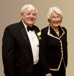 Dr. Bill and Molly Sasser have supported the College with their time and treasure for many years.